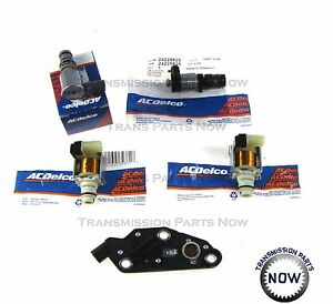 4T65E Transmission Solenoid Kit Set TCC, 2 Shift, EPC, Switch 2003 UP 84420AK
