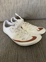 New Nike Zoom Superfly Elite Texas Longhorns Track Spikes Size 14 AA6424-180