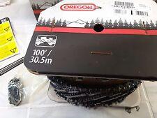 100 foot .404 pitch roll 68LX100U Oregon Full chisel chainsaw chain .063 1.6mm