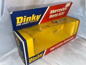 Dinky Toys 128 Mercedes Benz 600 Box Only