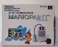 MARIO PAINT Mouse Controller Super Famicom Nintendo snes nes japan retro
