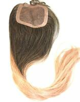 Human Hair Lace Closure Silk Top Frontal Topper Remy Remi Partial Wig all Sizes