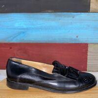 150431 SP50 Men/'s Shoes Size 9 M Black Leather Slip On Johnston /& Murphy