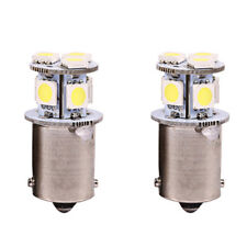 2Pc BA15S R5W 1156 5050 8SMD LED Car Tail Brake Parking Stop Light bulb White