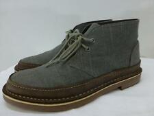 Clarks 15260 gray lace up Desert Chukka ankel Boots shoes mens sz 9 42 Minty!