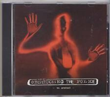 OBSTRUCTING THE POLICE vs. PROTEST CD 2006 Punk Oi Hardcore Metalcore * RARE