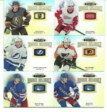 2019-20 Upper Deck Stature Rookie Reliance 6 card RC lot!!