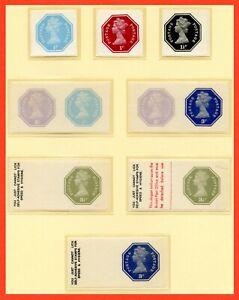 QEII 1974 Self Adhesive Selection, 2nd Series. Derek Worboys. MNH
