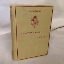 Selections From The Prose Writings Of Matthew Arnold Lewis Gates 1898 Henry Holt