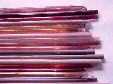 1lb Devardi Glass Rods Lampwork COE 104, Mixed Pinks