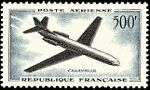 """FRANCE TIMBRE STAMP AVION N°36 """"SUR-AVIATION """"CARAVELLE"""" 500F"""" NEUF XX TTB"""