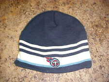 Tennessee Titans Reebok NFL OSFA YOUTH Cuffless Knit Hat/Beanie Free Ship