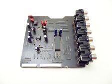 DENON AVR-681 RECEIVER PARTS - board - input  7020-06014-201-5