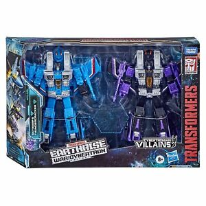 Transformers War for Cybertron Earthrise Seekers Skywarp Thundercracker WFC-E29