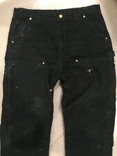 carhartt flannel lined pants 36x32