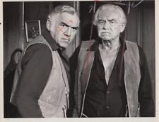 "Lorne Green and Will Geer in ""Bonanza"" 9/8/70- Original TV Still"