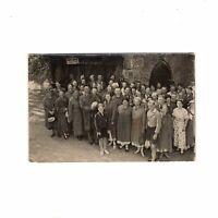 AK Ansichtskarte Schönes Gruppenbild / Saalfeld / Feengrotten - 1936