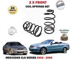 Para Mercedes CLK280 CLK320 CLK220 CLK270 Cdi 2002- > 2X Delante Muelles
