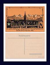 SUISSE BERN LANGUAGE NINTH UNIVERSALA KONGRESO DE ESPERANTO AUGUSTO 1913
