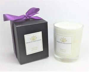 Wild Fig & Grape Natural Scented 9cl Candle Soy Wax Vegan Glass Votive Gift Box