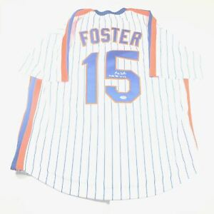 George Foster Signed Jersey PSA/DNA New York Mets Autographed