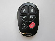 2004-2018 OEM TOYOTA SIENNA REMOTE KEYLESS ENTRY KEY FOB GQ43VT20T / 6 BUTTON