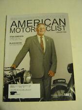 January 2009 American Motorcyclist Magazine, Stan Simpson (BD-12)