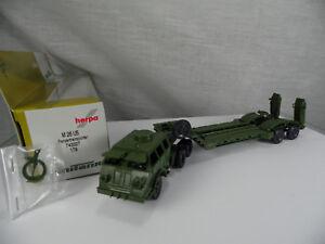 H0 roco Minitanks 784 vehículo de transporte militar mangosta Bundeswehr BW nuevo embalaje original