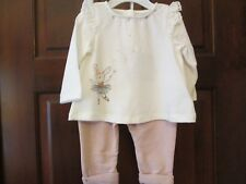 Tunic Outfit by Piper & Posie, Silver Metallic Sparkles, Size 3-6 Months, NWT