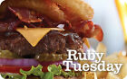 $25 / $50 Ruby Tuesday Physical Gift Card - FREE 1st Class Mail Delivery