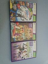Xbox 360 Kinect Games: Kinect Adventures, Game Party In Motion & Sports lot of 3