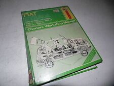 Fiat Strada 1979-85 Owner's Workshop Manual (Haynes)