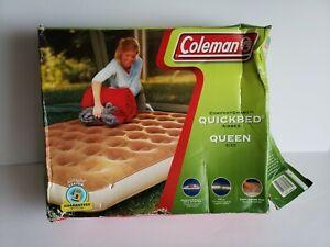 Coleman Comfort Smart Quickbed Queen Size New Open Box Air Mattress