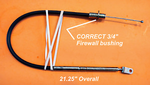For Mopar THROTTLE CABLE A, B-Body 340 383 318 340 Plymouth Dodge Satellite Dart