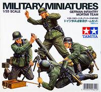 Tamiya 35193 German Infantry Mortar Team 1/35 scale kit