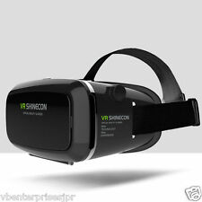 100% Origina Shinecon VR Virtual Reality 3D VR Glasses Google Cardboard Headset