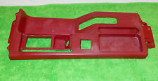 1987 1988 1989 1990 1991 1992 1993 Mustang LX GT ORIG RED CONSOLE TOP TRIM BEZEL