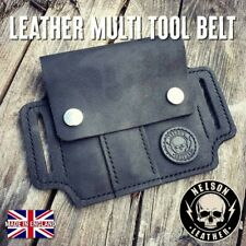 Leather Multi Tool Pouch EDC Organiser Pouch Every Day Carry EDC Tool Belt Pouch