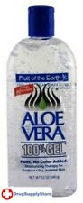 Bl Fruit Of The Earth 100% Aloe Vera 12 oz Gel - Two Pack