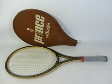 Vintage Prince Woodie Tennis Racket Hand Crafted Maple Ash Wood Wooden Retro