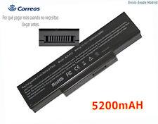 6Cell 5200mAH Batería para ASUS Li-lon Battery Pack A32-K72 Black Battery