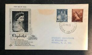 Cook Islands 1953 Coronation FDC First Day cover
