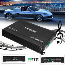 2000W Auto Verstärker 4-Kanal PKW KFZ Car Amplifier Subwoofer DC12V-DC14.4V LED