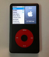 iPod classic 7th Generation U2 Special Edition 128GB SSD Memory 1500mAh Battery