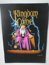 KINGDOM COME  vintage printed  backpatch  original 1988