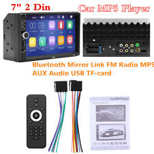 "In-Dash 7"" 2 Din WINCE Car Multimedia MP5 Audio Player Bluetooth Stereo FM Radio"