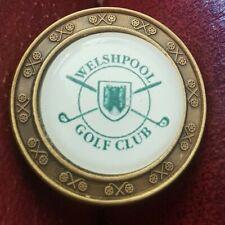 New listing Welshpool Golf Club Ball Marker