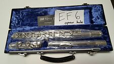 Flute, New Emerson EF6, Open Hole with Plugs & Warranty