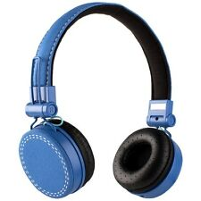Frisby FHP-920 Portable On-Ear Stereo Headphones w/ Microphone & Volume Control