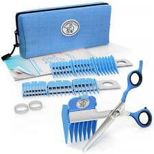 SCAREDY CUT Silent Pet Grooming Kit for Cat - Gentlest home grooming kit, BLUE